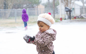 Snow Day - Waxahachie, TX Family Photographer